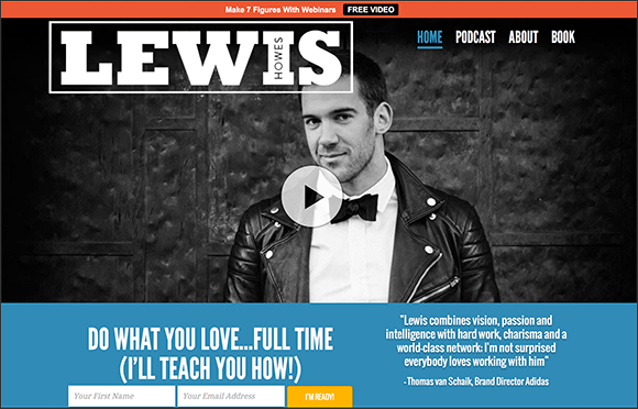 Lewis Howes Home Page