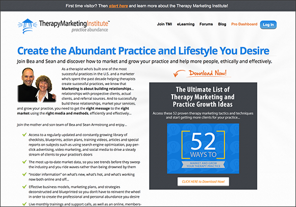 Therapy Marketing Institute - Home Page